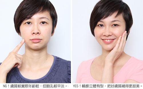 如何成為3D立體的小清新美女?